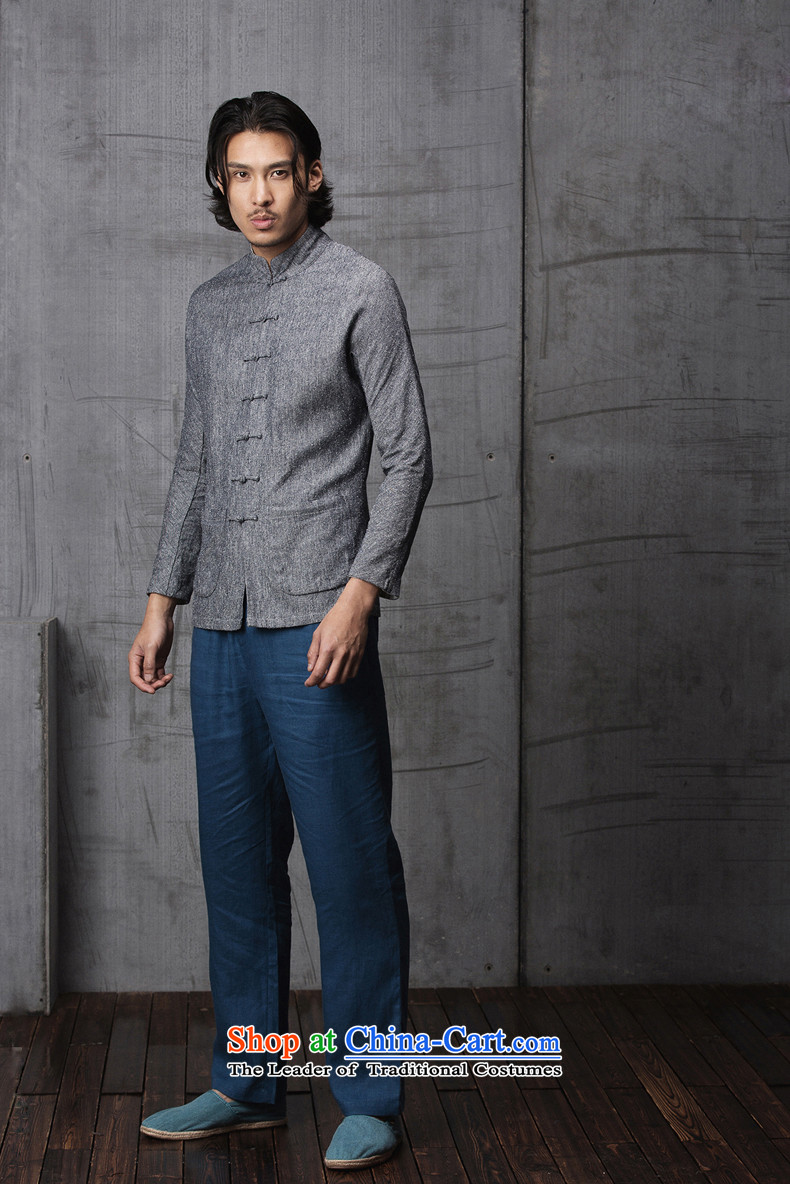 Phaedo grid autumn FZOG/ new spell checker shirt men stereo color tray clip stylish Sau San Tong load collar long-sleeved grayM picture, prices, brand platters! The elections are supplied in the national character of distribution, so action, buy now enjoy more preferential! As soon as possible.