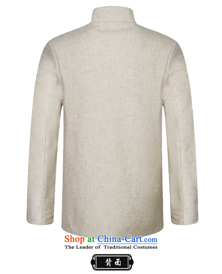 Shuai 2015 men Tang Yang woolen coats a middle-aged China wind collar Chinese long-sleeved jacket gray聽XXL picture, prices, brand platters! The elections are supplied in the national character of distribution, so action, buy now enjoy more preferential! As soon as possible.