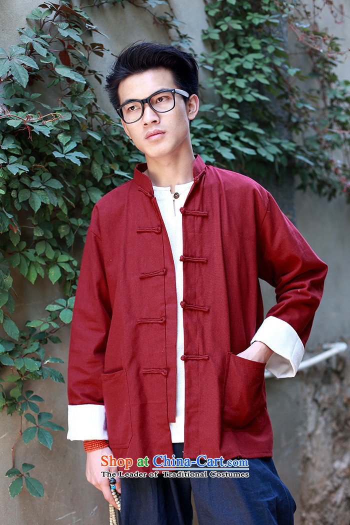 The autumn and winter new national costumes Tang dynasty men wearing long-sleeved jacket features Chinese tunic Tang JSL019YZ black聽XXL picture, prices, brand platters! The elections are supplied in the national character of distribution, so action, buy now enjoy more preferential! As soon as possible.