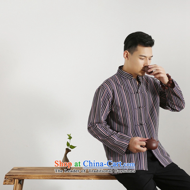 The autumn and winter new national costumes men Tang Dynasty Chinese tunic characteristics clothing Tang dynasty male Han-long-sleeved JSL017YZ next article?180