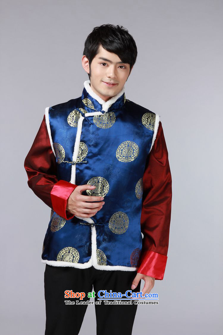 The autumn and winter new national costumes men Tang Dynasty Chinese tunic characteristics for winter clothing, a Chinese JSL015YZ large red聽XL Photo, prices, brand platters! The elections are supplied in the national character of distribution, so action, buy now enjoy more preferential! As soon as possible.