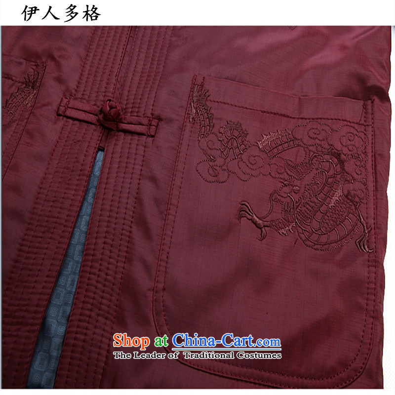 The Mai-Mai more Chinese Tang dynasty autumn and winter collar long-sleeved men father boxed national costumes thick cotton coat in older shirt grandpa festive red, Tang cotton coat聽185, Mai-Mai multiple cells (YIRENDUOGE) , , , shopping on the Internet