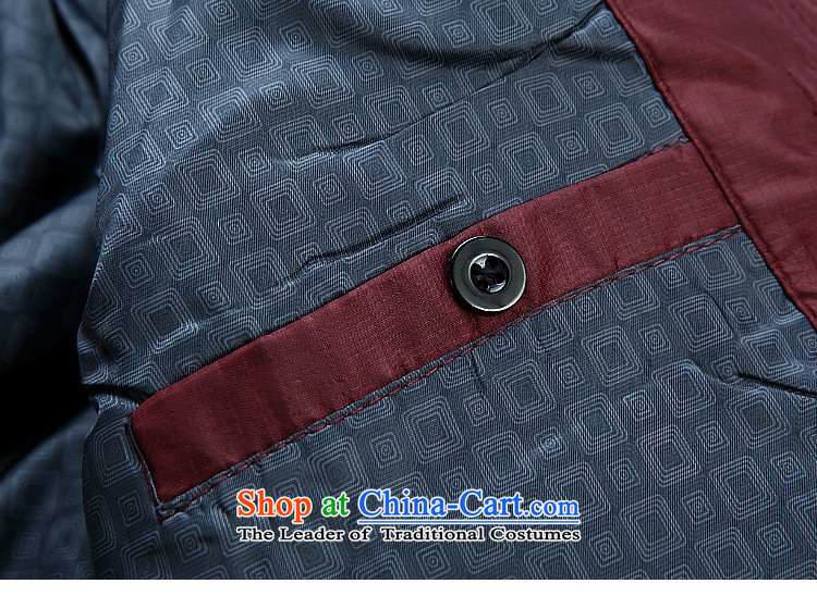 Tang dynasty male jacket coat long-sleeved thick cotton plus Tang blouses, older men's father replace 2015 autumn and winter embroidered dragon plus new products cotton black聽170 pictures, prices, brand platters! The elections are supplied in the national character of distribution, so action, buy now enjoy more preferential! As soon as possible.