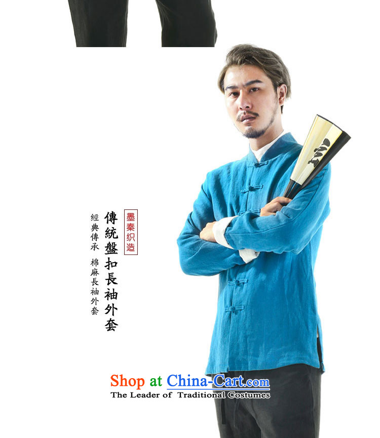 The qin designer original autumn new cotton linen Tang dynasty wholesale male long-sleeved jacket mqxs22005 Tang /picture in black, prices, brand platters! The elections are supplied in the national character of distribution, so action, buy now enjoy more preferential! As soon as possible.