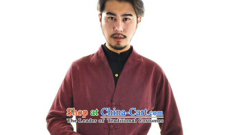 The qin designer original original autumn 2015 new wholesale Han-Menswear Chinese cotton linen retro Tang jackets and China wind mqxs2201 dark blue聽XXL picture, prices, brand platters! The elections are supplied in the national character of distribution, so action, buy now enjoy more preferential! As soon as possible.