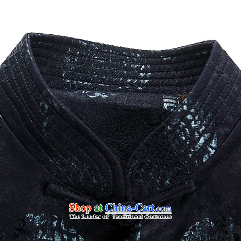 Hiv Rollet new older persons with thick autumn and winter Tang, manually disc detained long-sleeved jacket Tang men red聽XXXL, HIV ROLLET (AICAROLINA) , , , shopping on the Internet