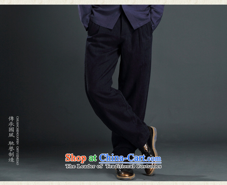 Renowned Tang dynasty autumn and winter male-casual pants and Chinese tunic loose trousers linen pants Harun trousers men China wind cotton linen pants Han-Army greenL picture, prices, brand platters! The elections are supplied in the national character of distribution, so action, buy now enjoy more preferential! As soon as possible.