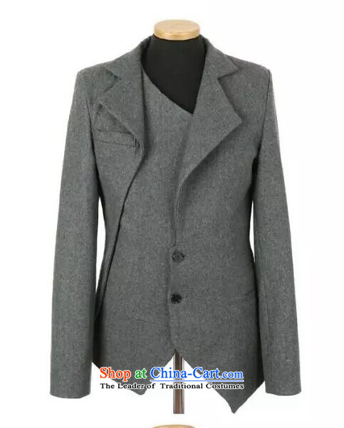 The autumn and winter new national costumes men Tang Dynasty Chinese tunic characteristics clothing Spring New JSL020YZ gray hair? The XL Photo, prices, brand platters! The elections are supplied in the national character of distribution, so action, buy now enjoy more preferential! As soon as possible.
