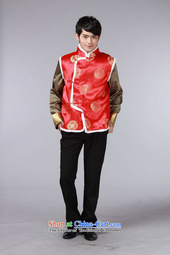 The autumn and winter new national costumes men Tang Dynasty Chinese tunic characteristics for winter clothing Chinese vest JSL015YZ black M picture, prices, brand platters! The elections are supplied in the national character of distribution, so action, buy now enjoy more preferential! As soon as possible.