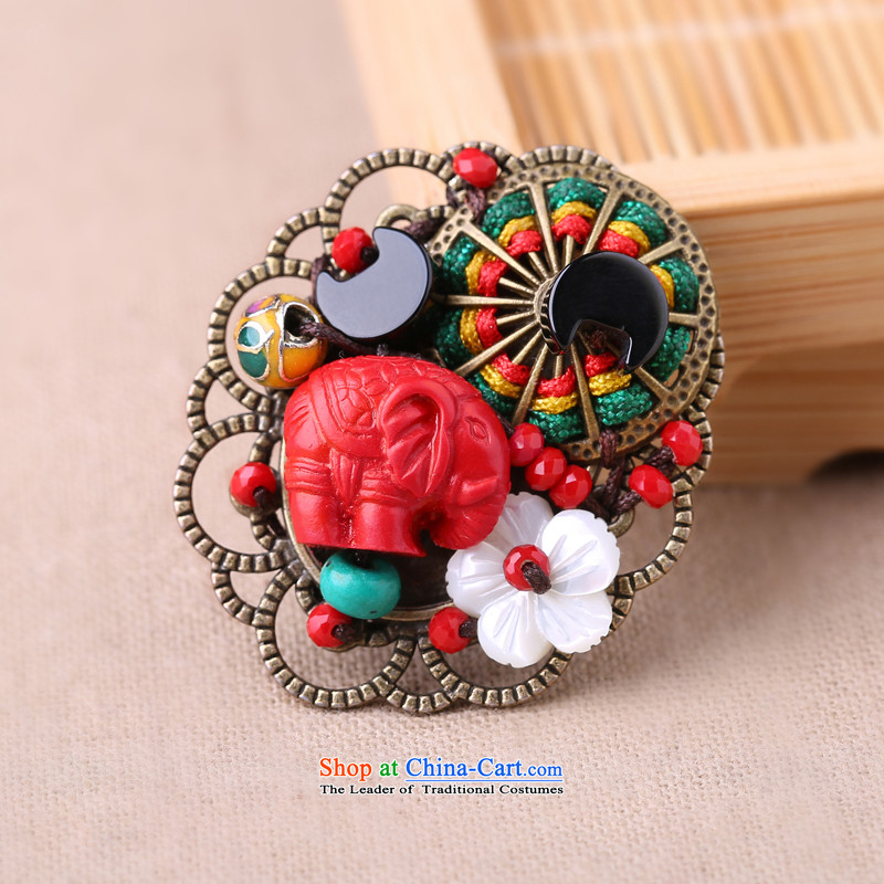 Gangnam-gu rainy ethnic female shawl detained brooches minimalist wild cardigan sweater with two chest flower picture of retro , , , , shopping on the Internet