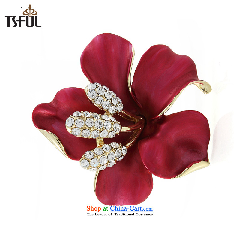 - Name of overnight tsful Yuan Chest Flower silk scarf detained two brooches necklaces sweaters with Korean) ,tsful,,, link shopping on the Internet