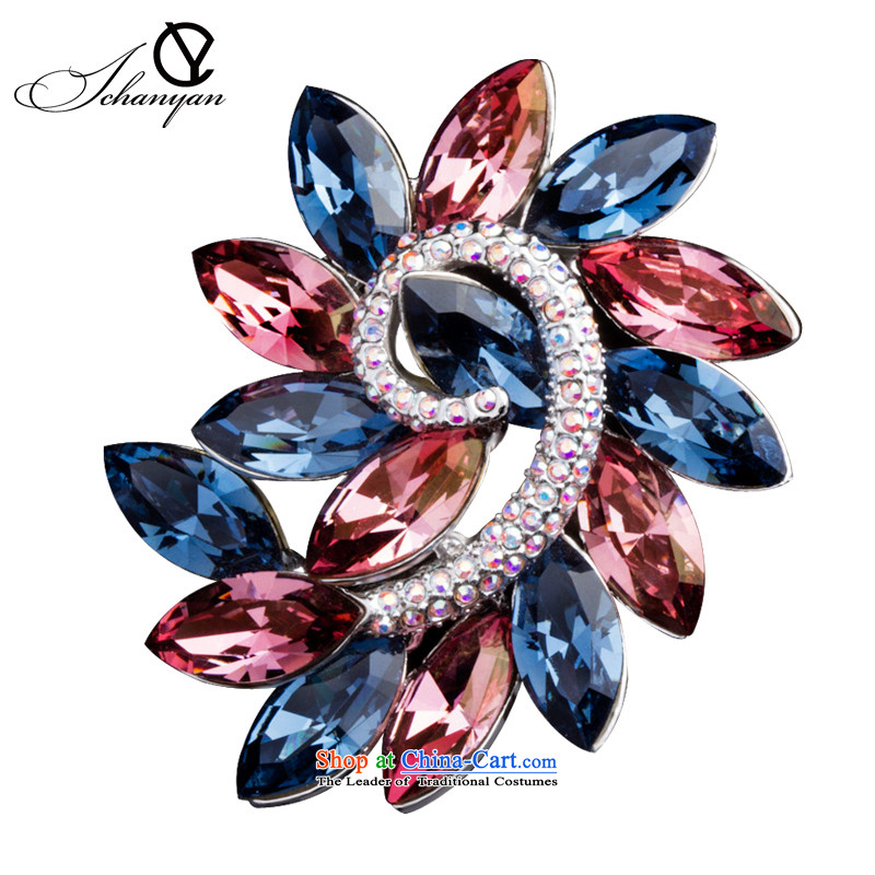 France ichanyan Xinghe love brooches female stylishly banquet wild chest flower gift