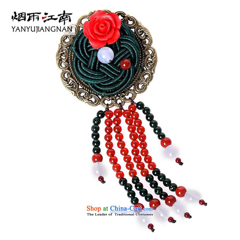 Gangnam-gu rainy design brooches Chest Flower retro ethnic Couture