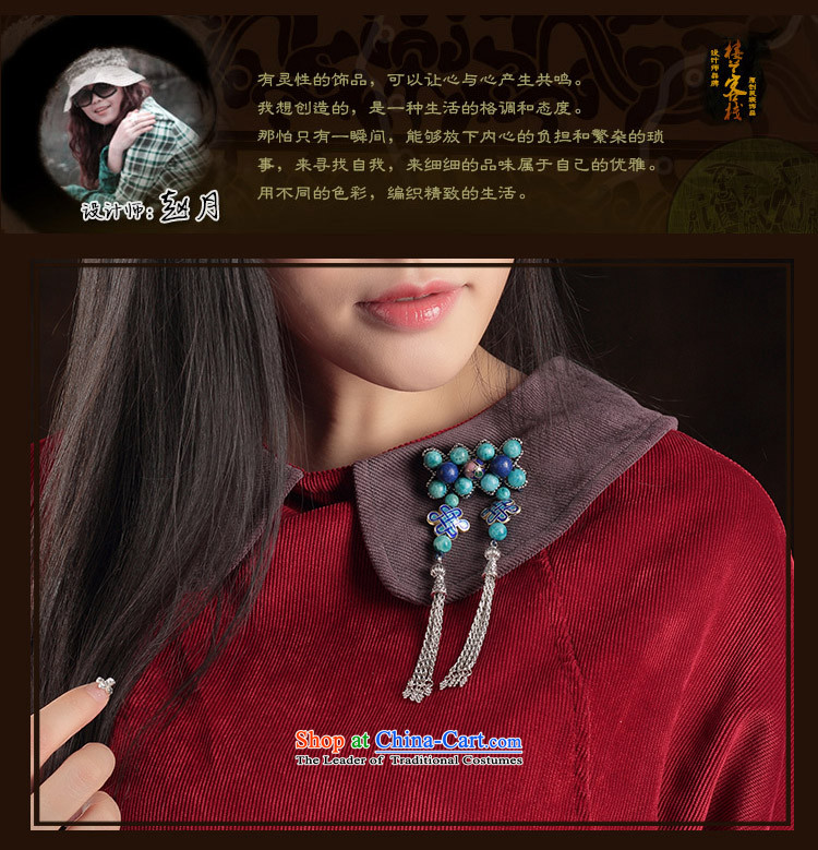 Original antique ethnic pin sweater brooches coats blue Cloisonne Accessory Chest Flower with ornaments female picture, prices, brand platters! The elections are supplied in the national character of distribution, so action, buy now enjoy more preferential! As soon as possible.