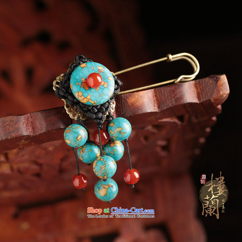Jewelry products female original manually ethnic retro China wind wild exaggerated personality, brooches